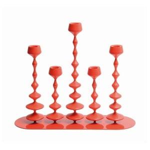 Świecznik Les Perles Red XXL