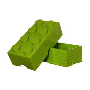 Limonkowy pojemnik prostokątny LEGO®