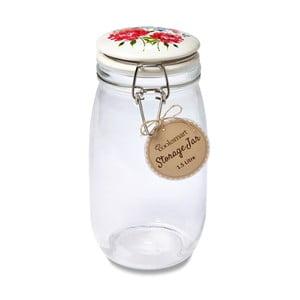 Pojemnik szklany Cooksmart England Floral Romance, 1,5 l