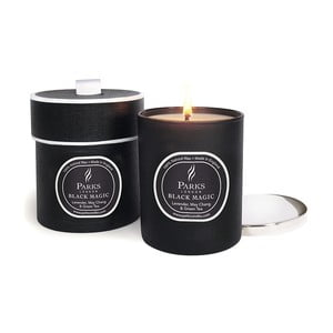 Świeczka Magic Candles, 50 godzin palenia, zapach lawendy, zielonej herbaty i May Chang