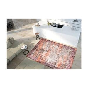 Dywan plamoodporny Floorita Vintage Beige Orange, 80x150 cm