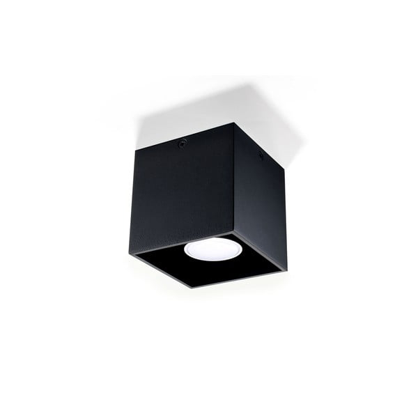 Czarna lampa sufitowa Nice Lamps Geo 1