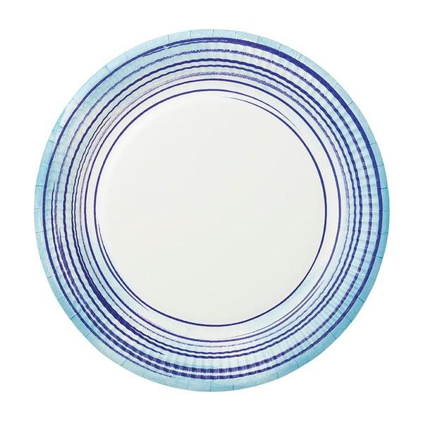 Zestaw 12 tacek papierowych Talking Tables Coast