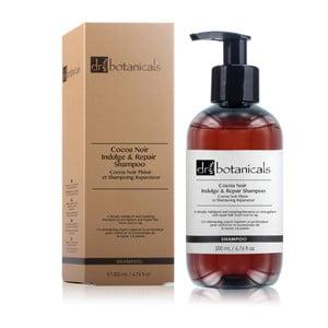 Szampon do włosów zniszczonych Dr. Botanicals Cocoa Noir Indulge and Repair, 200 ml
