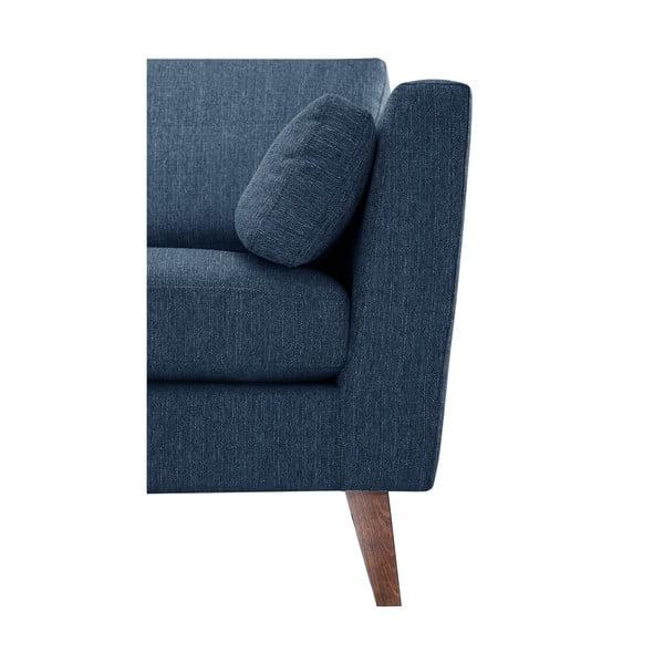 Szaroniebieski fotel Jalouse Maison Elisa