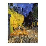 Obraz Vincenta van Gogha - Cafe Terrace, 60x45 cm