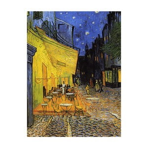 Reprodukcja brazu Vincenta van Gogha - Cafe Terrace, 60x45 cm