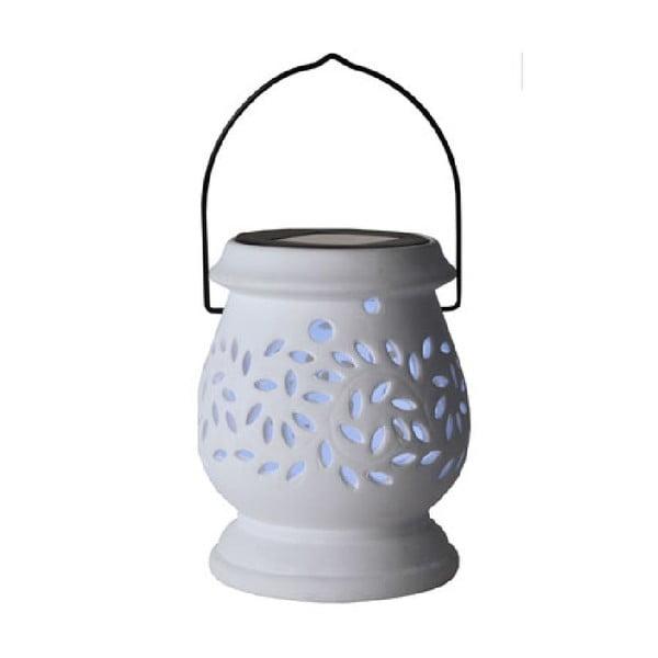 Biały lampion LED Best Season Clay