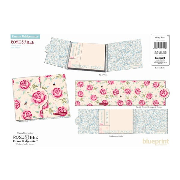 Karteczki samoprzylepne Rose Bee