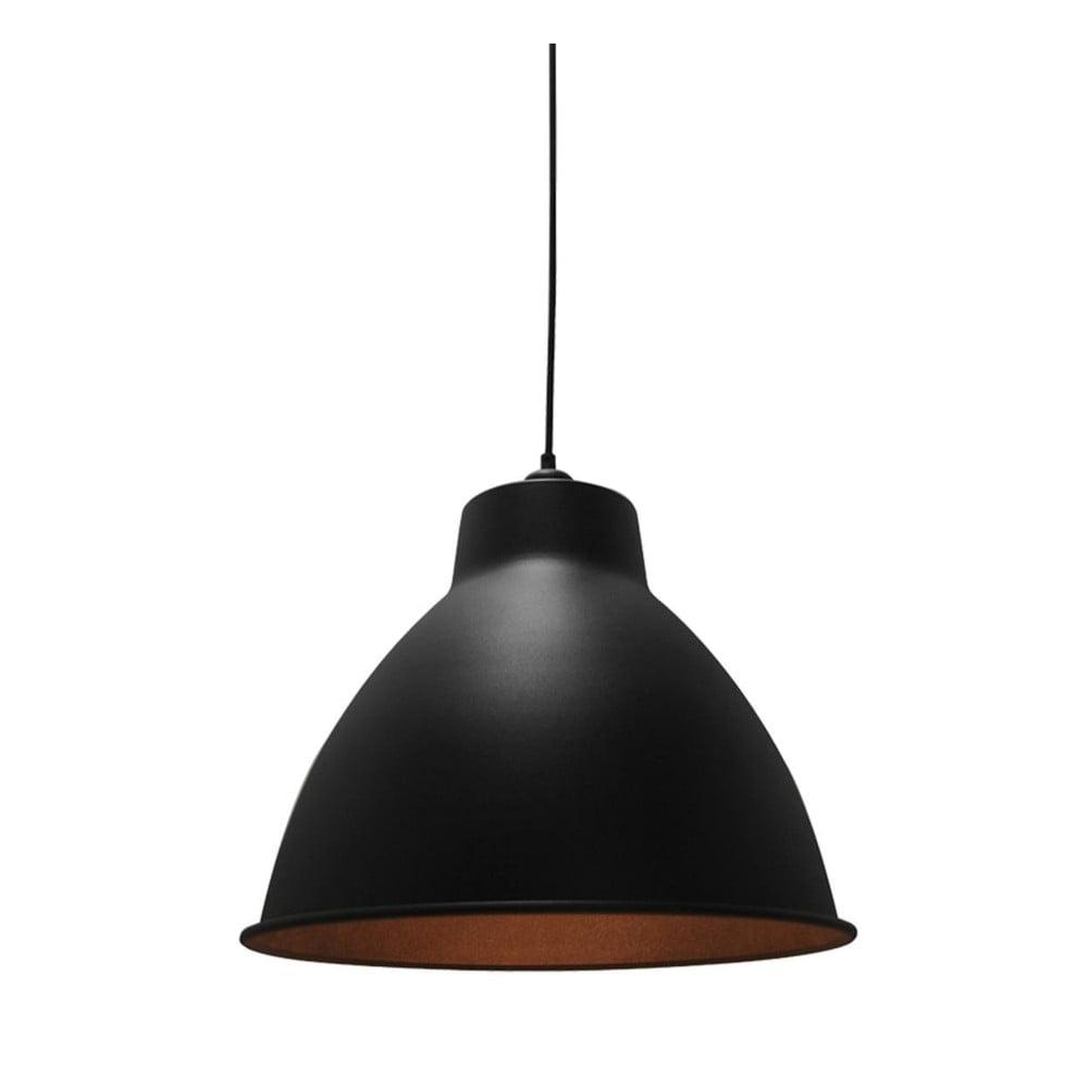 Czarna lampa wisząca LABEL51 Dome