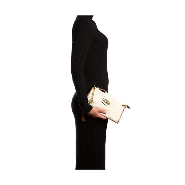 Skórzana torebka Isabella Rhea 2024, beżowa