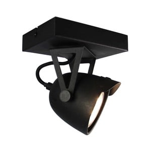 Czarna lampa sufitowa LABEL51 Spot Moto Cap Uno