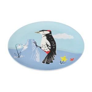 Talerz melaminowy Rex London Woodpecker