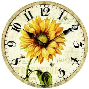 Zegar Sunflower, 34 cm