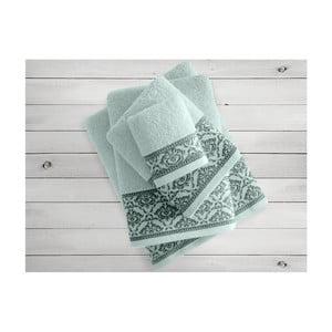 Miętowy ręcznik Irya Home Felice, 30x50 cm