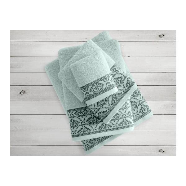 Miętowy ręcznik Irya Home Felice, 70x130 cm