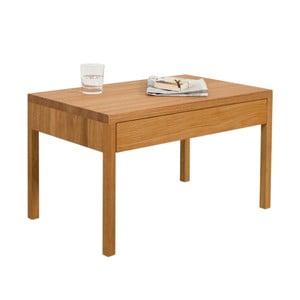 Stolik nocny z drewna dębowego Ellenberger design Alex