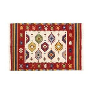 Dywan ręcznie tkany Kilim Dalush 010, 90x60 cm