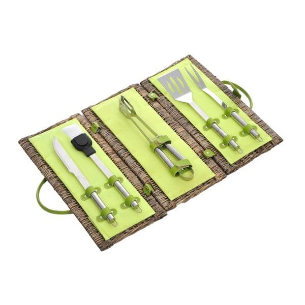 Zestaw akcesoriów do grilla Willow Green, 44x22x22 cm