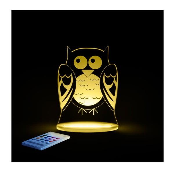 Dziecięca lampa nocna LED Aloka Sowa