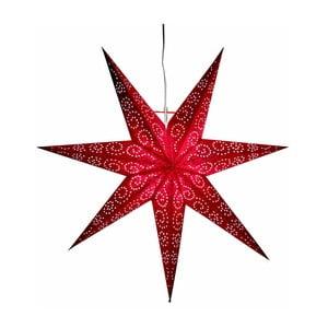Czerwona gwiazda świecąca Best Season Antique Red, 60 cm