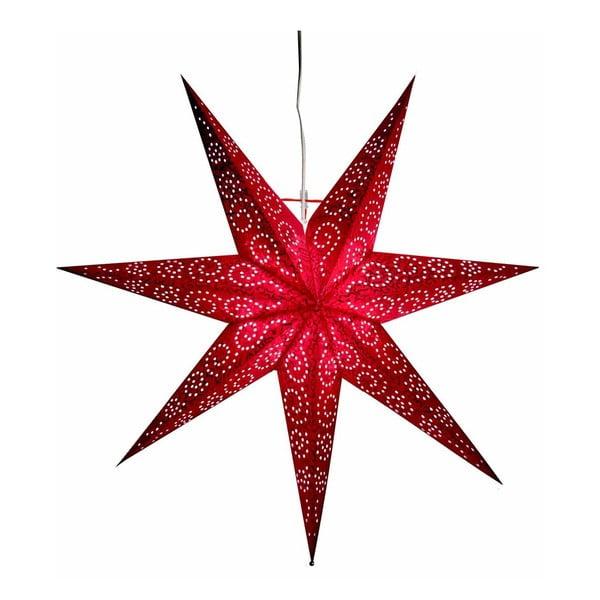 Gwiazda świecąca Antique Red, 60 cm