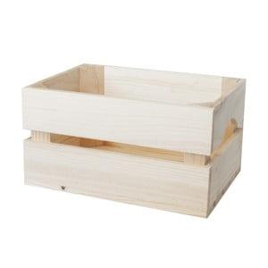 Skrzynka Caja Mini Natural, 30x16x21 cm