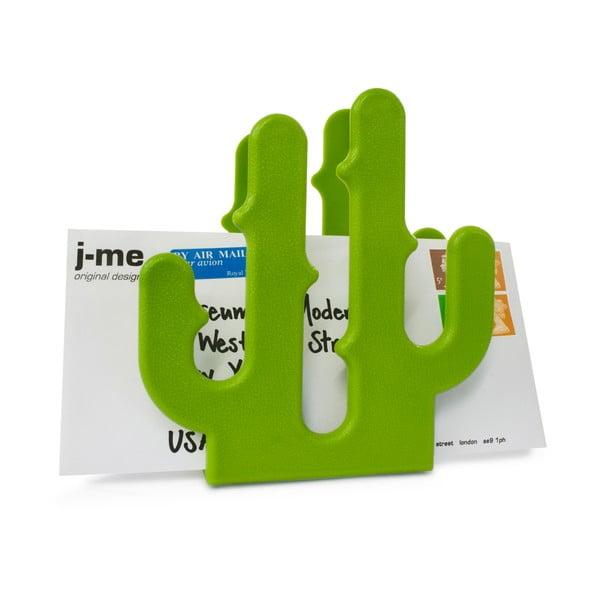 Zielony stojak na pocztę J-Me Cactus