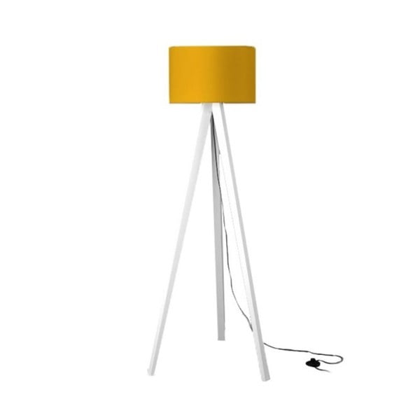 Lampa stojąca Tripod Yellow/White