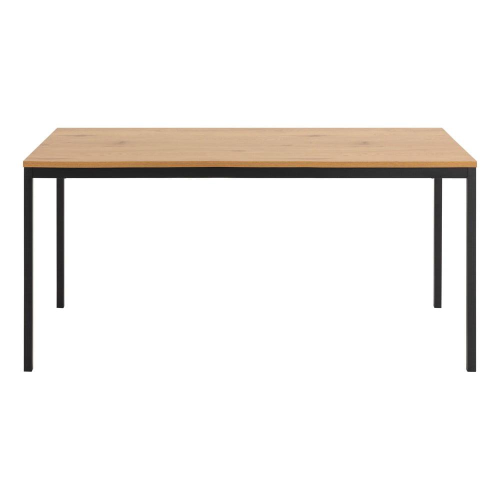 Stół z blatem w dekorze dzikiego dębu Actona Seaford, 180x90 cm
