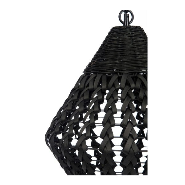 Żyrandol Geometric Black, 35x35x122 cm