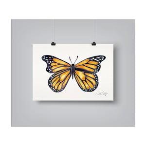 Plakat Americanflat Monarch, 30x42 cm