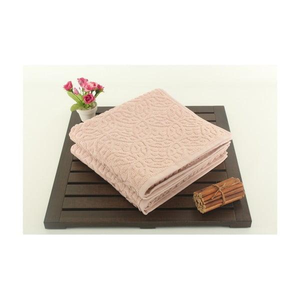 Zestaw 2 ręczników Lisbon Powder, 50x90 cm