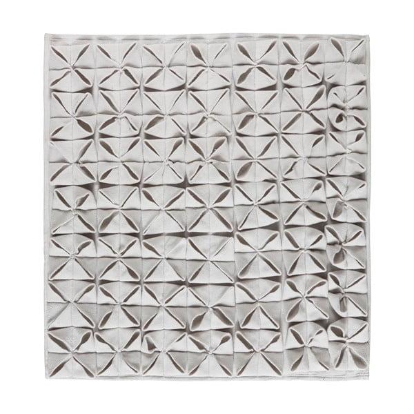 Dywanik łazienkowy Origami 60x60 cm, szary