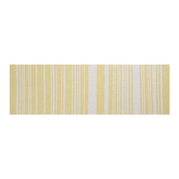 Bawełniany dywan Glorious Yellow, 80x250 cm