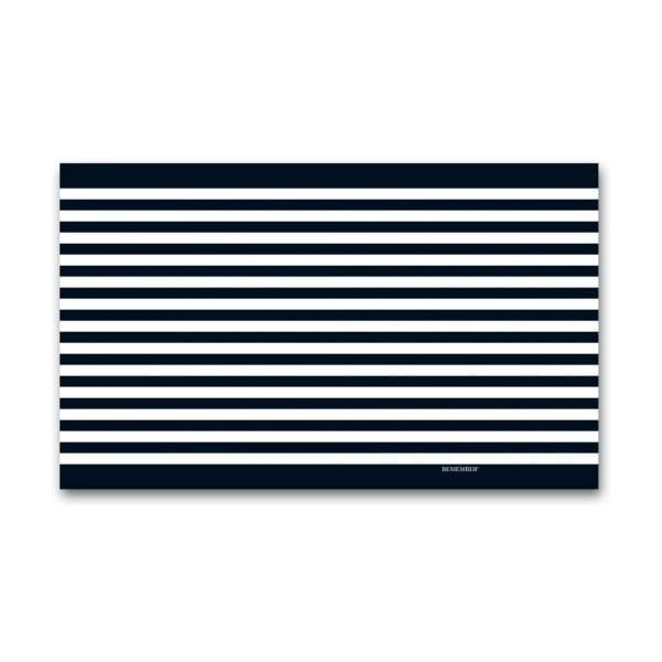 Chusta Remember XL Black & White , 180x105 cm