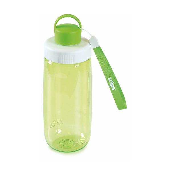 Zielona butelka na wodę Snips Water, 500 ml