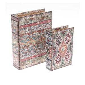 Zestaw 2 pudełek Beige Books