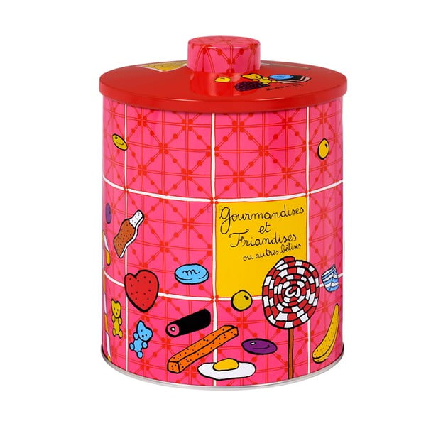 Pojemnik Bonbons Gourmandise, rose