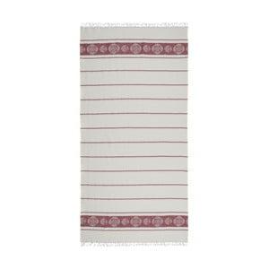 Ręcznik hammam Loincloth Burgundy, 80x170 cm
