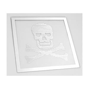 Lustro Skull, 50x50 cm