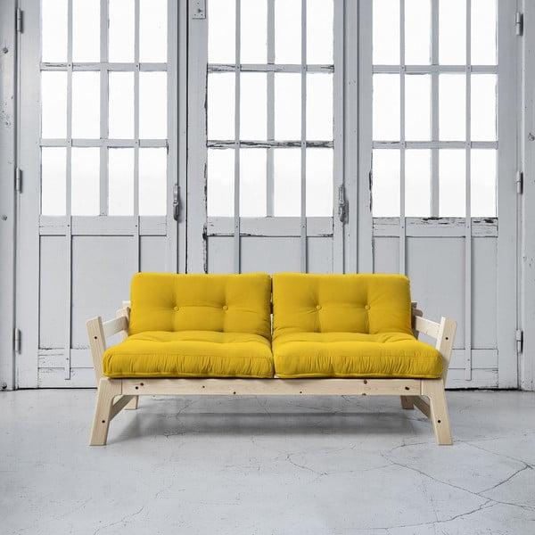 Sofa rozkładana Karup Step Natural/Amarillo