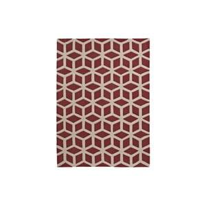 Dywan Hongkong Red Beige, 80x150 cm, czerwony