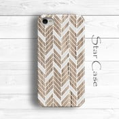 Etui na iPhone 6 Wood Chevron Her