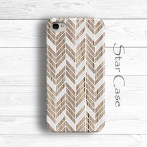 Etui na iPhone 4/4S Wood Chevron Her