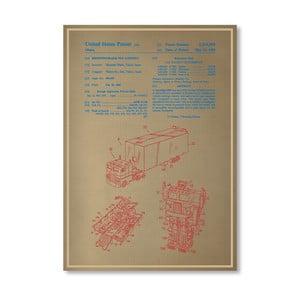 Plakat Optimus Prime, 30x42 cm