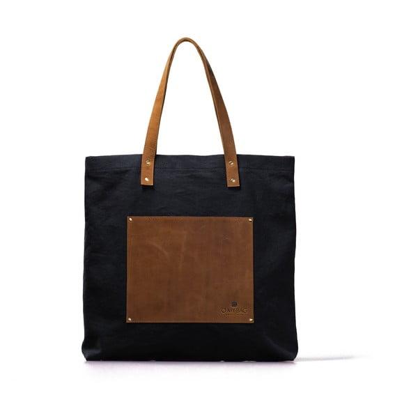 Niebiesko-brązowa torba skórzana vintage O My Bag Lou's