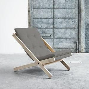 Fotel składany Karup Boogie Raw/Granite Grey