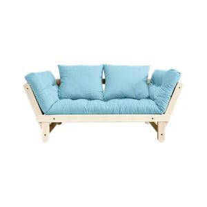 Sofa rozkładana Karup Design Beat Natural/Celeste