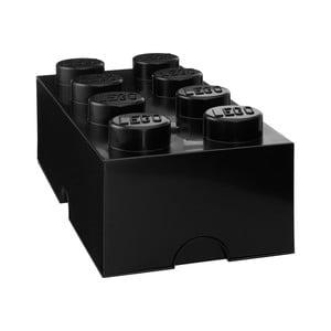 Czarny pojemnik prostokątny LEGO®